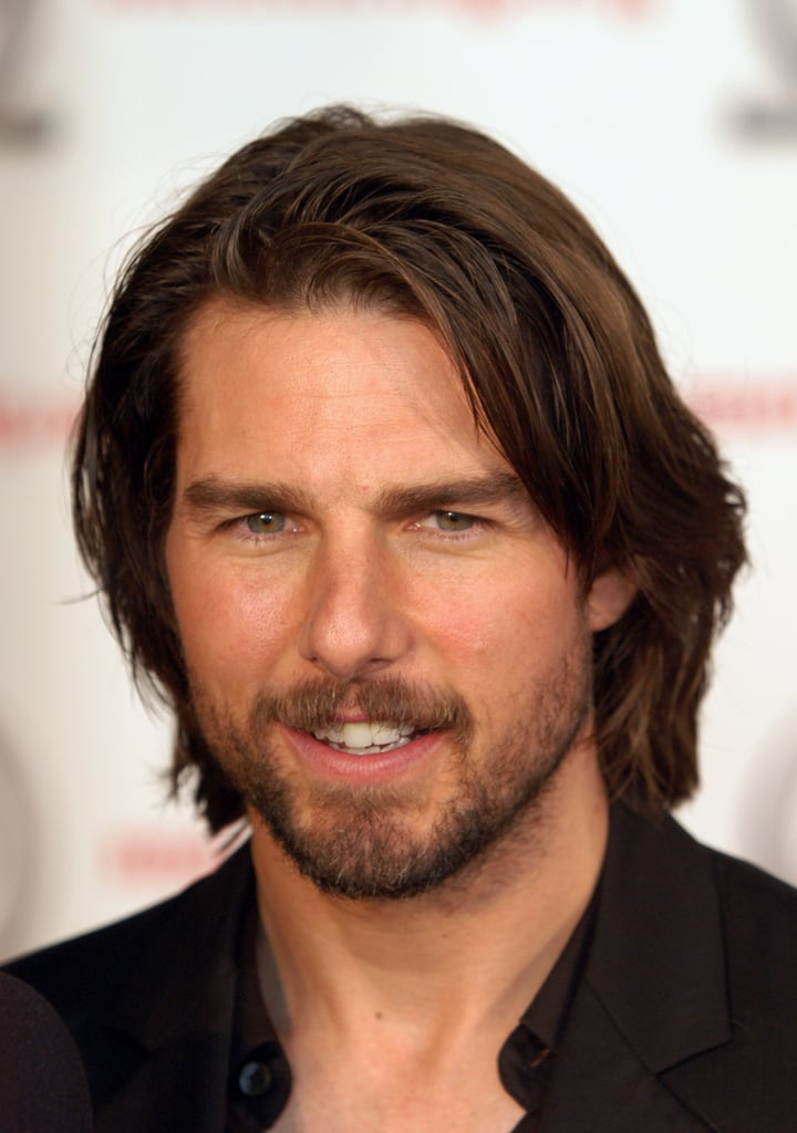 Tom Cruise Male Celebrities With Long Hair Popsugar