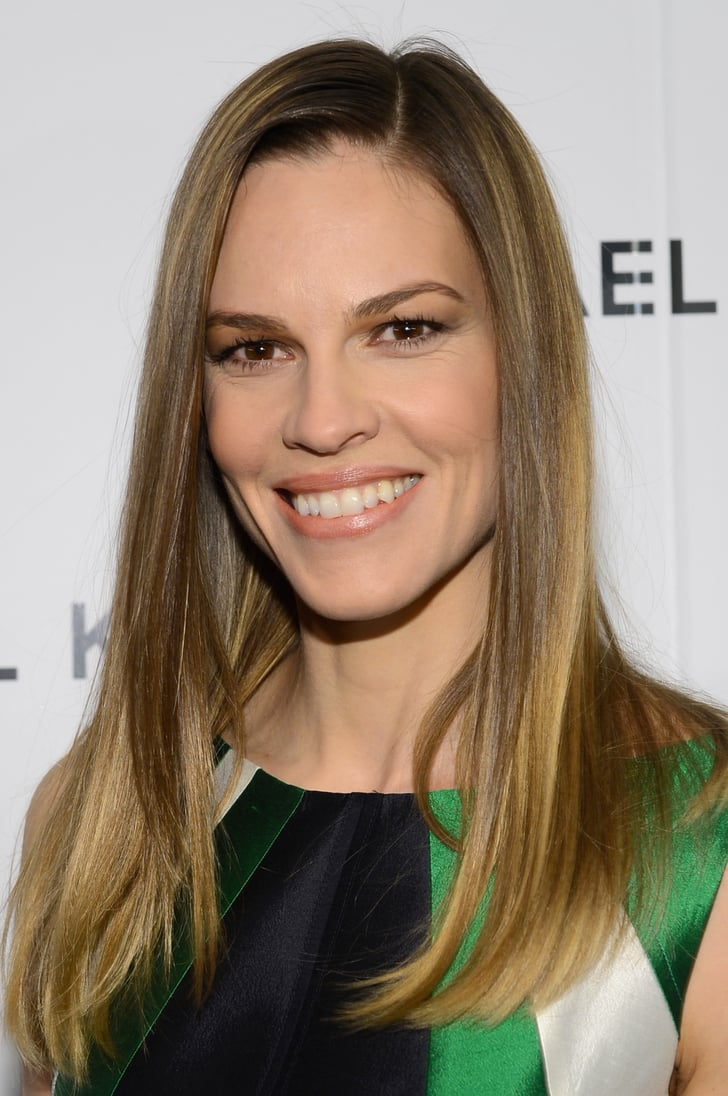 Hilary Swank Celebrity Hair And Makeup Fashion Week
