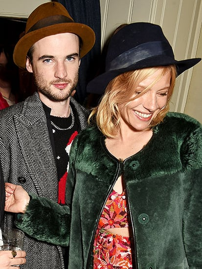 Friendly Exes? Sienna Miller Is All Smiles as She Hits London Christmas Party with Ex Tom Sturridge