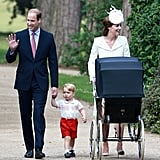 Royal Christening Kate and William
