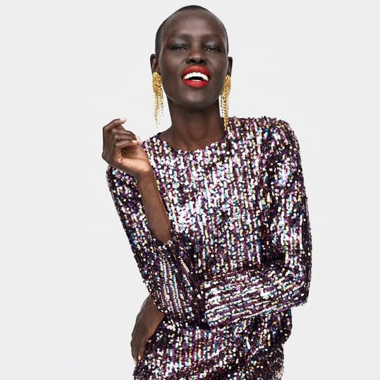 Best Sequin Party Dresses Zara