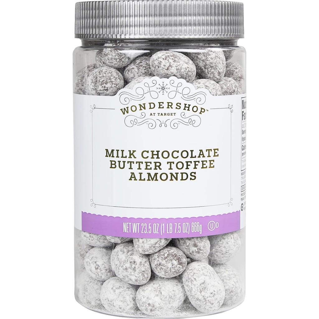 Wondershop Milk Chocolate Butter Toffee Almonds