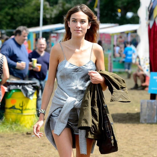 Celebrity Fashion at Glastonbury Festival 2014
