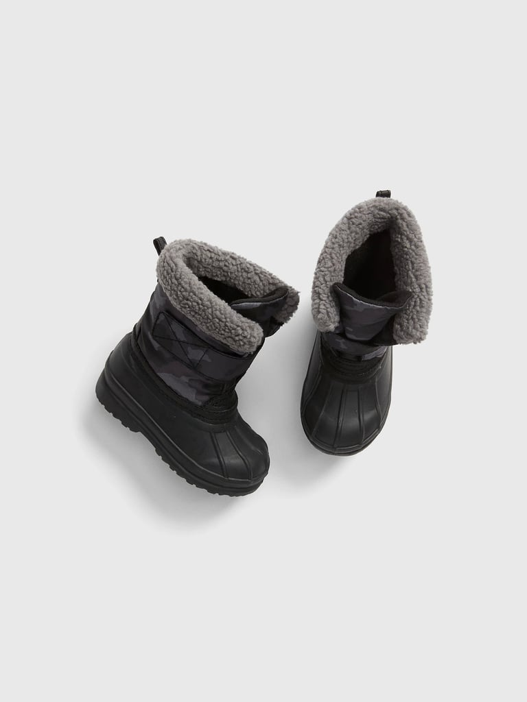 Gap Sherpa-Lined Snow Boots   Best Snow