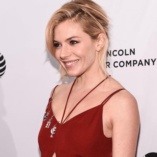 Sienna Miller Christopher Kane Dress Tribeca Film Festival