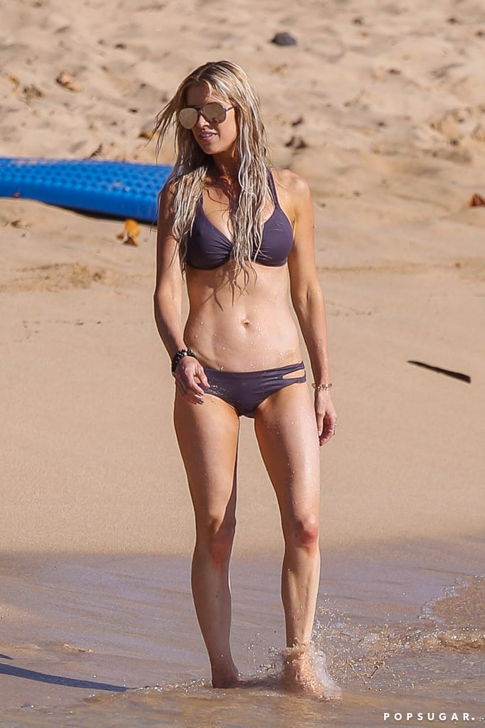 Christina El Moussa Wearing Bikini In Hawaii April 2017 Popsugar