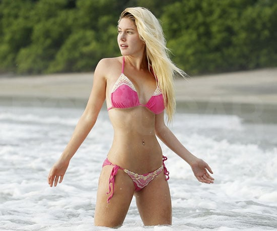 Slide Picture of Heidi Montag in a Bikini