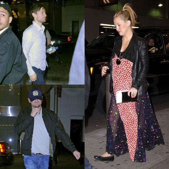 Kate Hudson Hits Broadway For a Show With Leo, Tobey, and Gerard