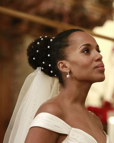 Olivia Pope's Wedding Dress on Scandal