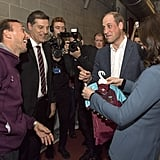Prince William and Kate Middleton at Coach Core Graduation