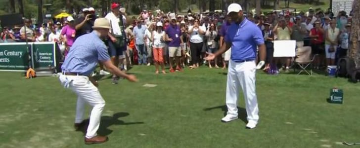 "Watch Justin Timberlake and Alfonso Ribeiro Do ""The Carlton"" Dance"