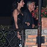 Amal Clooney in Polka-Dot Dress at Venice Film Festival 2017