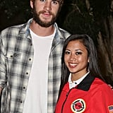 Liam Hemsworth attended the Spring Break: Destination Education fundraiser party in LA.