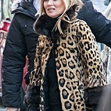 Kate Moss at Paris Fashion Week February 2018