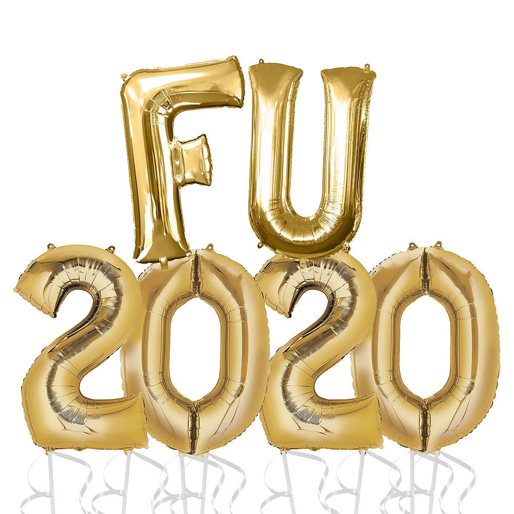 "Party City Is Selling ""FU 2020"" Balloons For New Year's Eve"