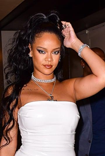 Rihanna's French Manicure