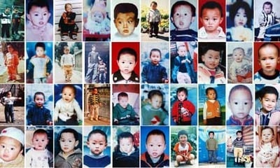 Chinese Police Track Down 178 Kidnapped Children
