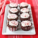 Peppermint Crunch Brownie Bites
