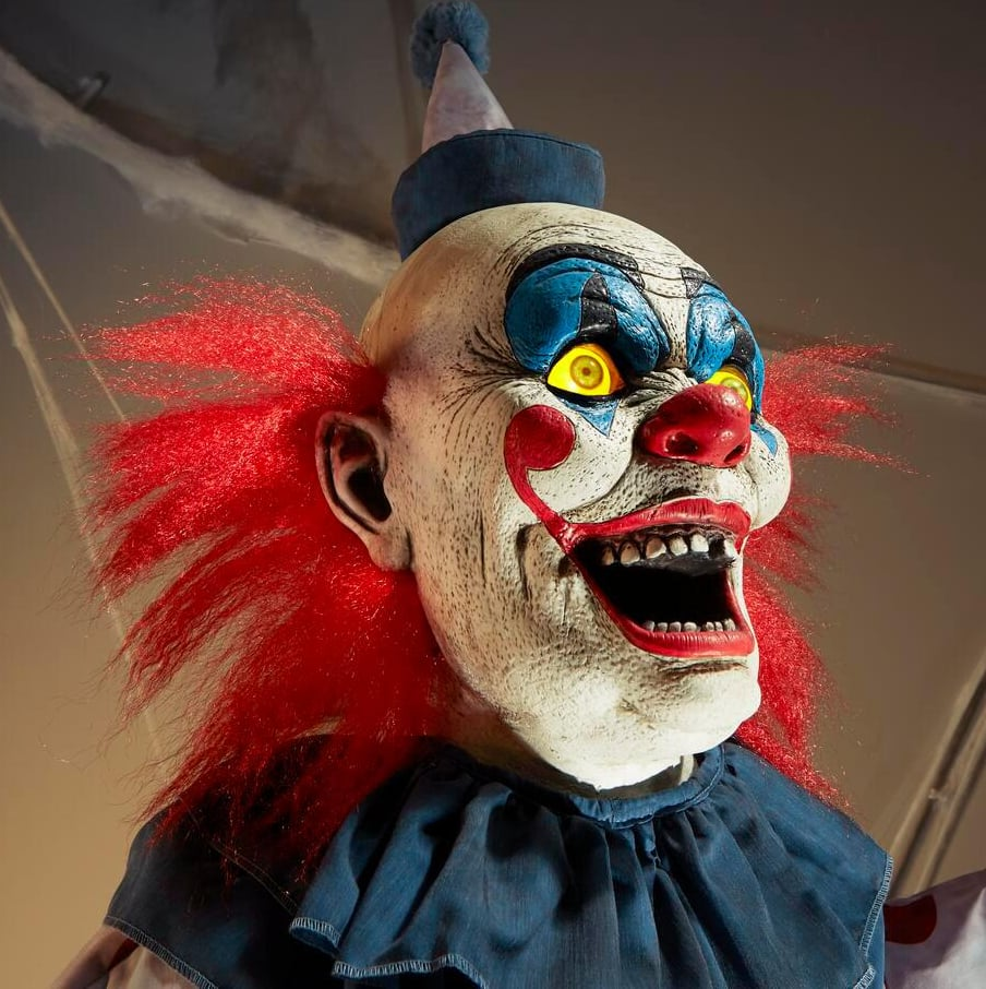 Shop Home Depot's Terrifying 12-Foot-Tall Clown Decoration