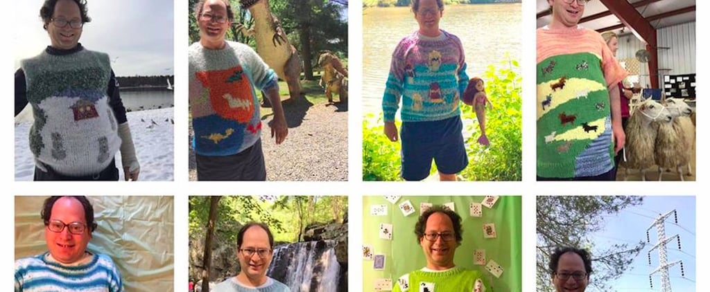 This Man Knits Sweaters To Match His Travel Destinations