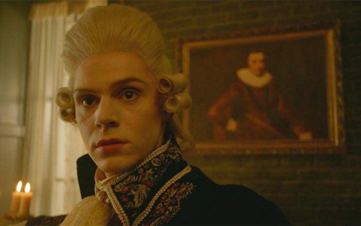 """Peters as """"Edward Mott"""" aka Rory Monahan in Roanoke"""