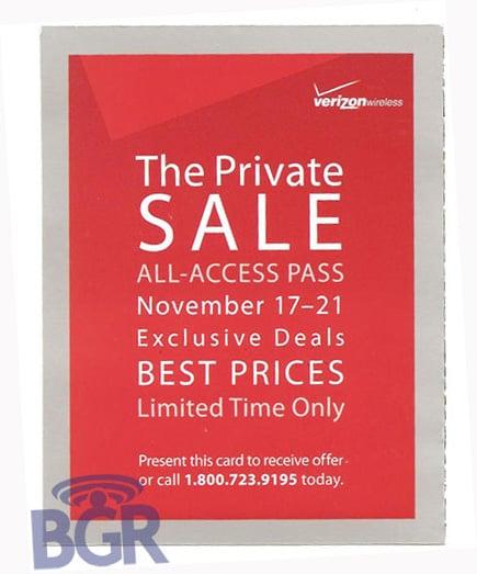 Daily Tech: Verizon Wireless Sends Out Invites For a Private Sale