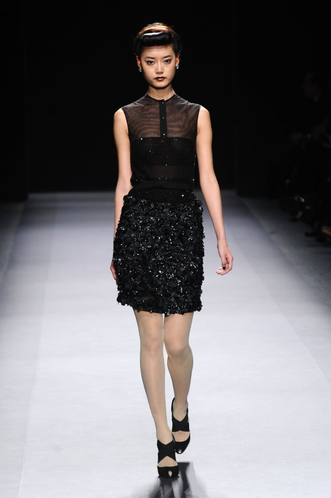 Review And Pictures Of Jenny Packham 2012 Fall New York Fashion Week Runway Show Popsugar