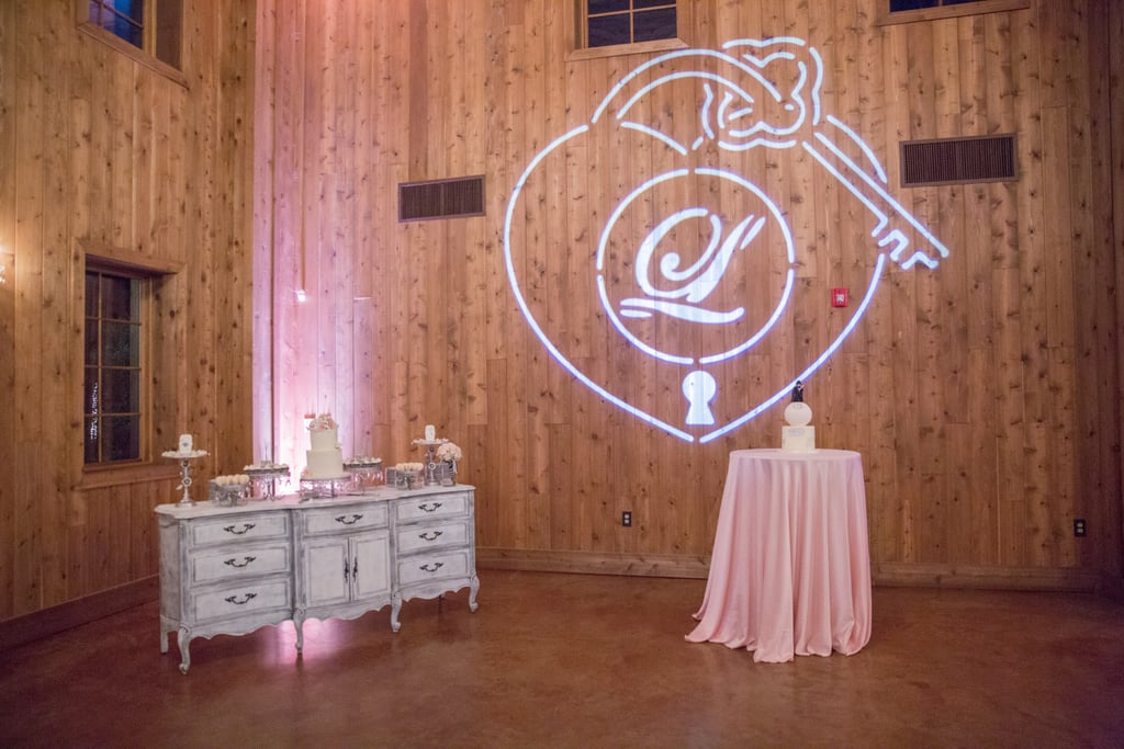This Glam Wedding Is All Pink and Sparkles — Until You See the Cake