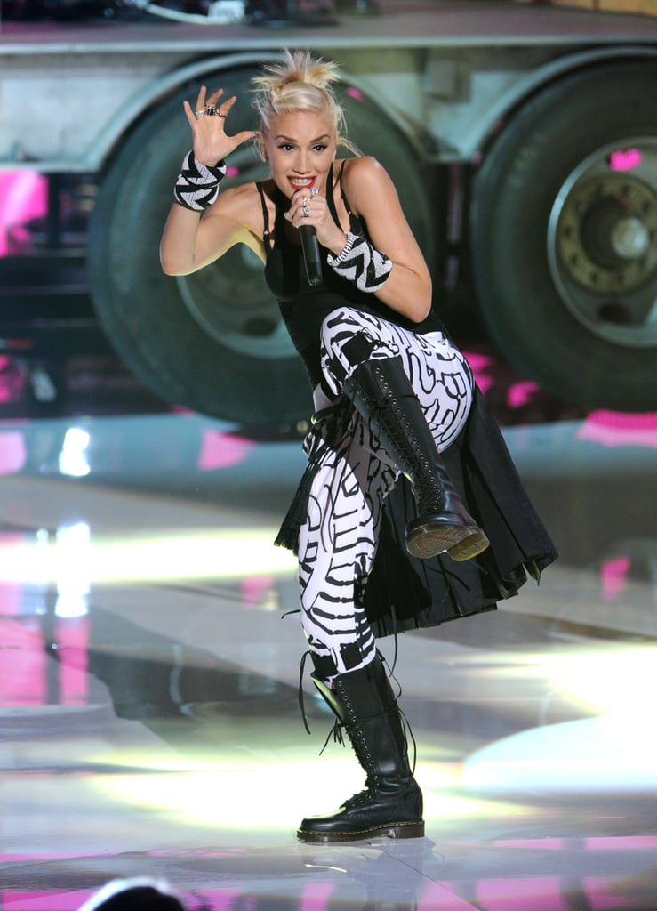 Gwen Stefani and No Doubt performed in the 2012 show.