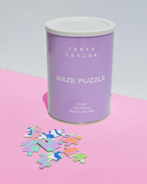 Tanya Taylor Maze Print Puzzle