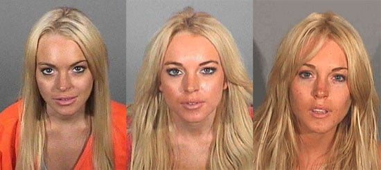 Pictures of Lohan's Mugshots