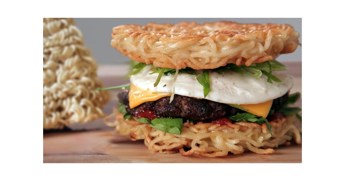Make a Ramen Burger at Home!
