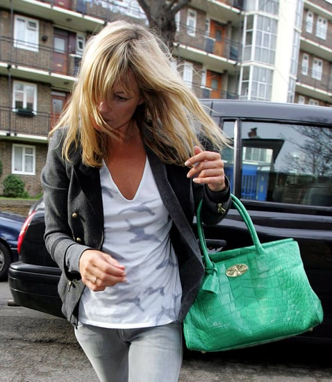 Kate Moss Spotted at her House in North London