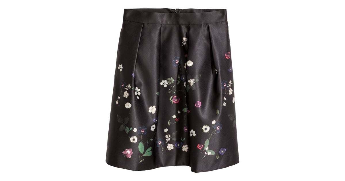 HM Short Satin Skirt