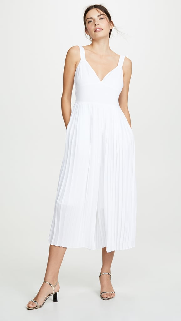 Vince Pleated Jumpsuit