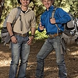 Names: Cord and Jet McCoy Connection: Brothers Ages: 33 and 34 Hometowns: Tupelo, OK, and Ada, OK Current occupations: Cowboy; rancher Previous seasons: Second place in season 16 and sixth place in season 18