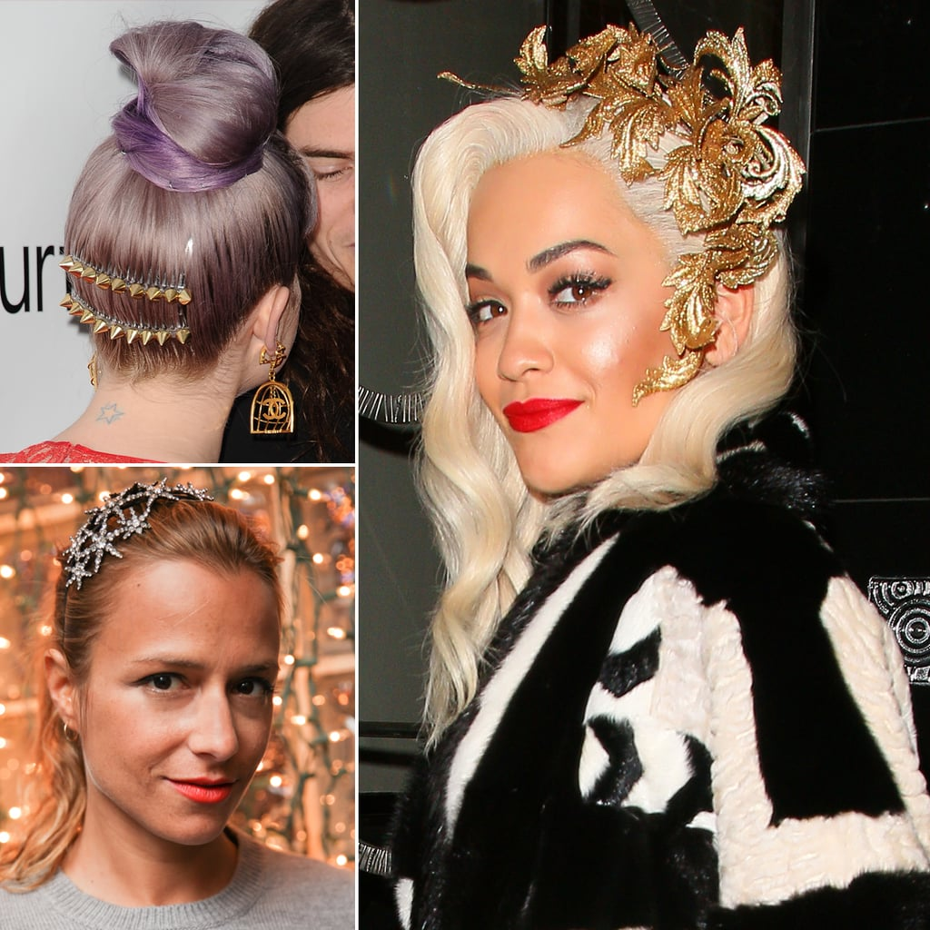 Celebrities in Hair Accessories