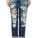 Current/Elliott The Fling Distressed Jeans ($288)