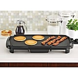Mainstays Dishwasher-Safe Black Griddle