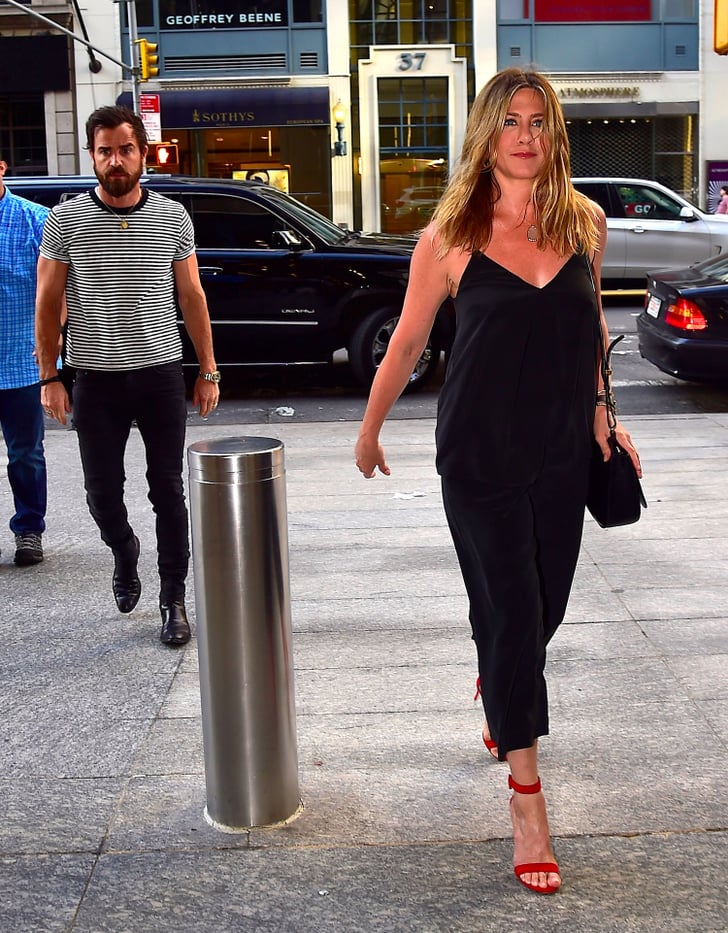 Jennifer Aniston Date Night Style Popsugar Fashion