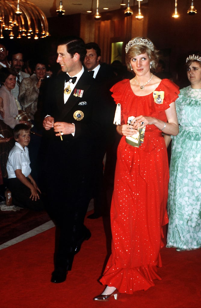 Prince Charles and Princess Diana's Australia Tour Pictures