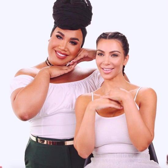 Kim Kardashian's Makeup Tutorial With Patrick Starrr