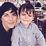 Selma Blair and Arthur Saint Bleick also went to the race at Santa Anita Park and took some sweet selfies.