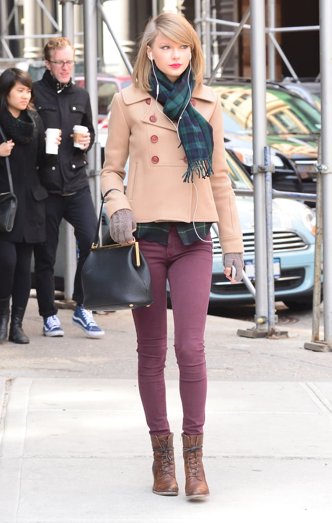 Taylor Swift 39 S Street Style Taylor Swift 39 S Nyc Street Style Popsugar Fashion Photo 3