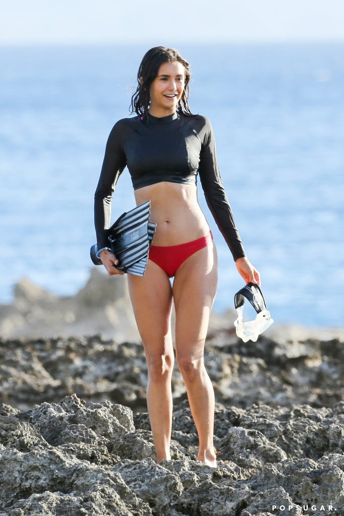 27 Pictures That Prove Nina Dobrev Can Rock the Hell Out of a Bikini