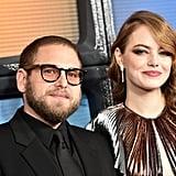 Emma Stone and Jonah Hill at Maniac Premiere 2018