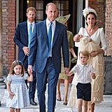 The Royal Family at Prince Louis's Christening