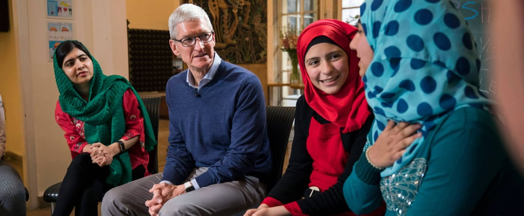 Apple CEO Tim Cook Joins Malala Fund Council