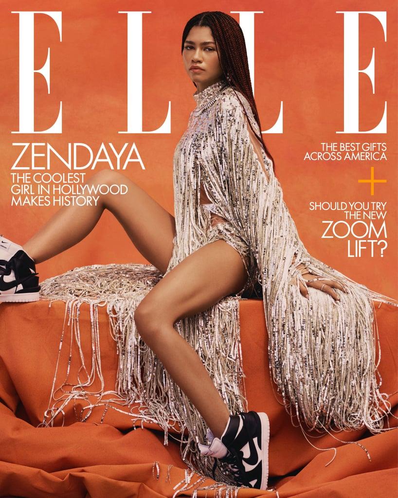 Zendaya Talks Emmy Win and Malcolm & Marie in Elle