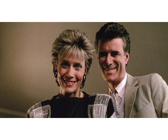 Cindy Pickett and Lyman Ward as Katie and Tom Bueller